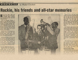 """Rockie, his friends and all-star memories"""