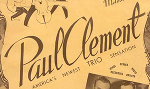 Paul Clement Trio
